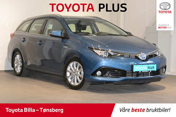 Toyota Auris Touring Sports 1,8 Hybrid Active S  2016, 22 900 km, kr 229 000,-