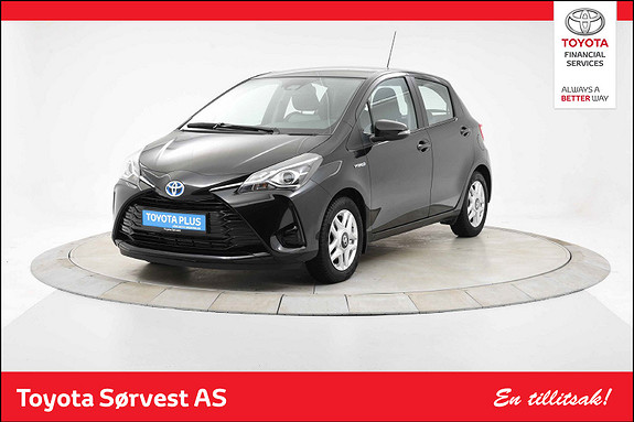 Toyota Yaris 1,5 Hybrid Active e-CVT aut  2018, 16091 km, kr 219000,-