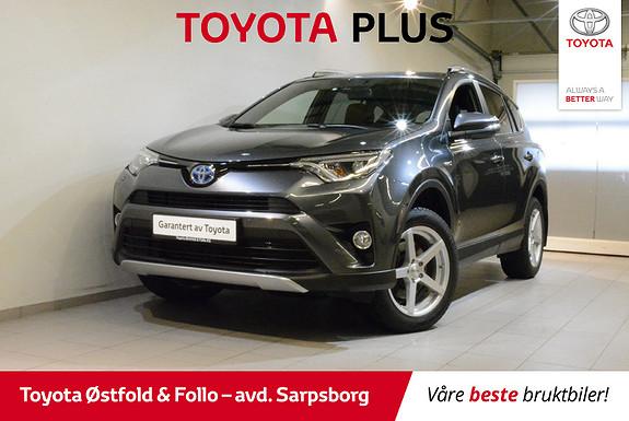 Toyota RAV4 Hybrid 2WD 71n Edition  2018, 17700 km, kr 385000,-