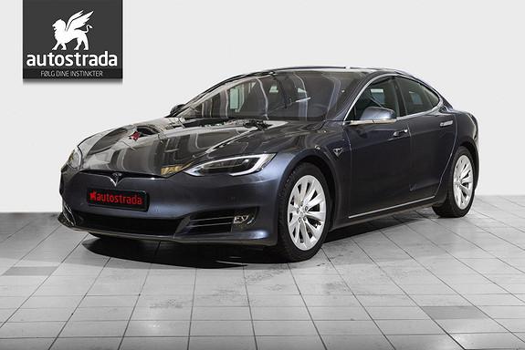 Tesla Model S 75D 4WD Premium Pakke/Oppgr AP/Oppgrad Lyd  2018, 43100 km, kr 635000,-