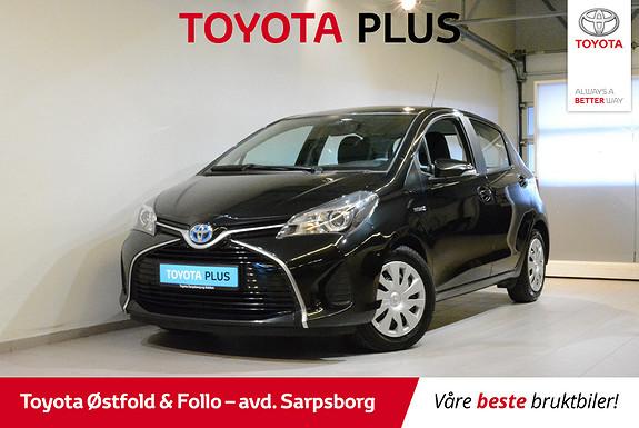 Toyota Yaris 1,5 Hybrid Active e-CVT , DAB+/NAVIGASJON,  2014, 57500 km, kr 142000,-