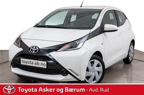 Toyota Aygo x-play 1,0 Innbyttekampanje  2015, 33700 km, kr 109000,-