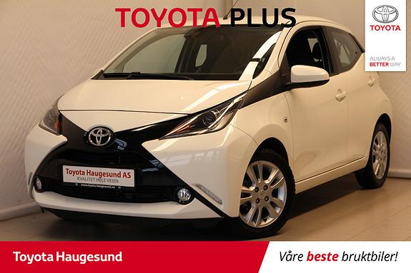Toyota Aygo x-play 1,0 Kamera, autoklima, DAB+, Bluetooth, Tectyl  2017, 19457 km, kr 139000,-