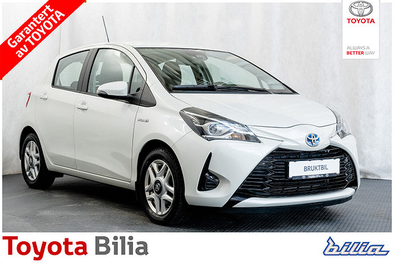 Toyota Yaris 1,5 Hybrid Active Go e-CVT aut DAB+  2018, 47486 km, kr 189000,-