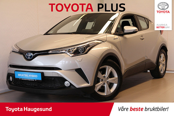 Toyota C-HR 1,8i Hybrid Active  2018, 10450 km, kr 299000,-