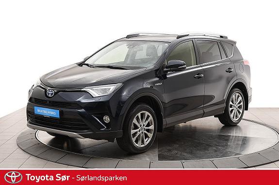 Toyota RAV4 Hybrid 4WD Executive Soltak og hengerfeste  2018, 11000 km, kr 459000,-