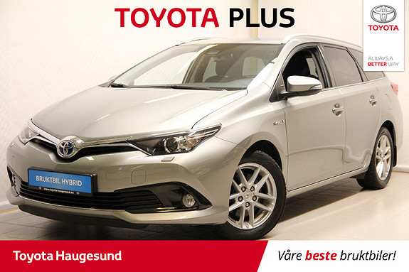 Toyota Auris Touring Sports 1,8 Hybrid Active Sport  2017, 28 250 km, kr 239 000,-