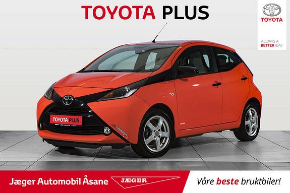 Toyota Aygo x-cite 1,0  2015, 35100 km, kr 129000,-