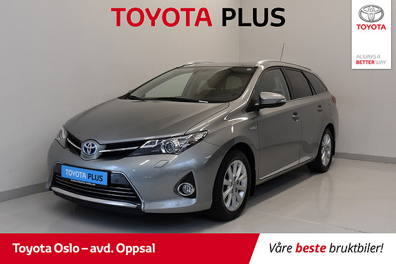 Toyota Auris Touring Sports 1,8 Hybrid Executive  2014, 53533 km, kr 189900,-