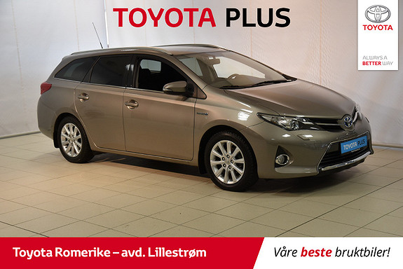 Toyota Auris Touring Sports 1,8 Hybrid Active+  2015, 68 858 km, kr 160 000,-