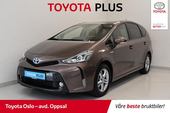 Toyota Prius+ Seven 1,8 VVT-i Hybrid Executive  2016, 13522 km, kr 309900,-