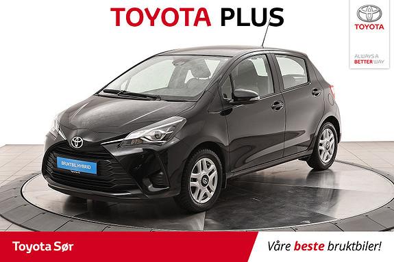 Toyota Yaris 1,0 Active+  2017, 26000 km, kr 165000,-