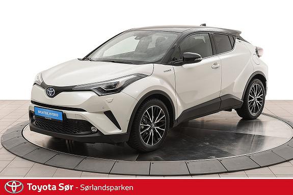 Toyota C-HR 1,8i Hybrid Lounge Tech  2019, 2000 km, kr 349000,-
