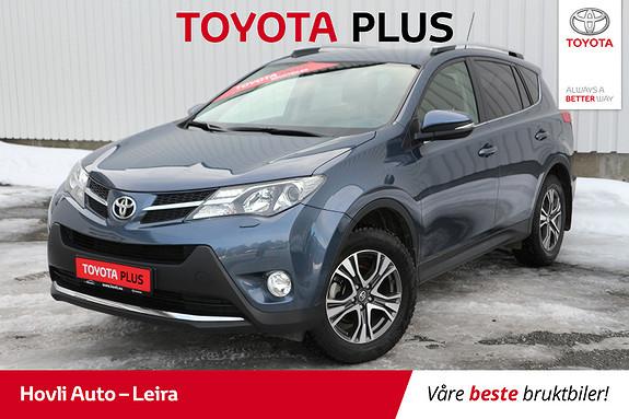 Toyota RAV4 2,0 D-4D 4WD Executive // Lav km // Hengerfeste //  2014, 61000 km, kr 289900,-