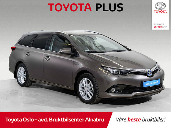 Toyota Auris Touring Sports 1,8 Hybrid Active Sport DAB+, Automat,  2018, 13076 km, kr 289900,-