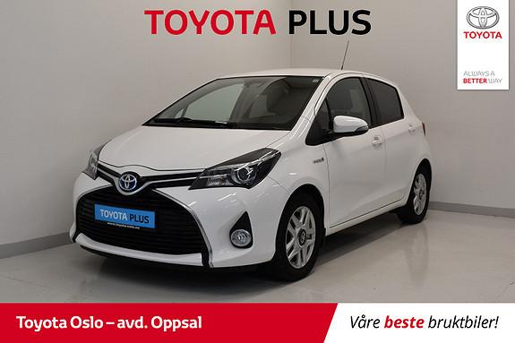 Toyota Yaris 1,5 Hybrid Style e-CVT  2015, 70300 km, kr 168900,-