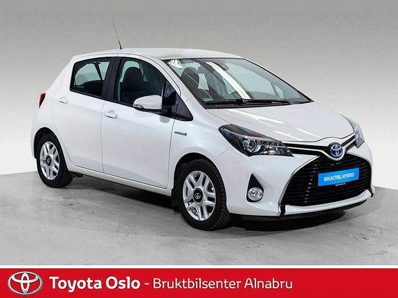 Toyota Yaris 1,5 Hybrid Active S e-CVT Automat, Navi, DAB+,  2017, 37830 km, kr 179900,-