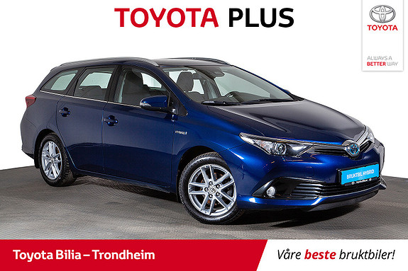 Toyota Auris Touring Sports 1,8 Hybrid Active  2017, 59159 km, kr 229900,-