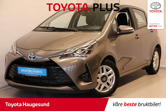 Toyota Yaris 1,5 Hybrid Active Go e-CVT aut  2018, 2277 km, kr 219000,-