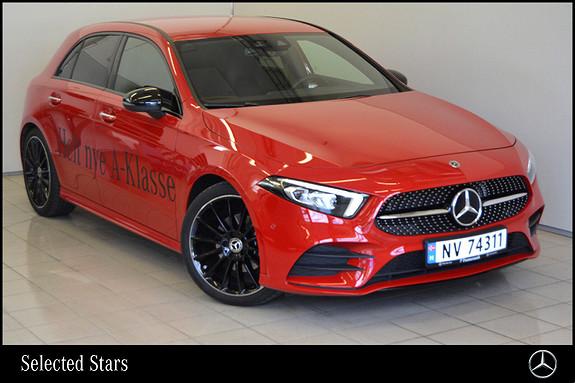 Mercedes-Benz A-Klasse A200 aut  2018, 5100 km, kr 419000,-