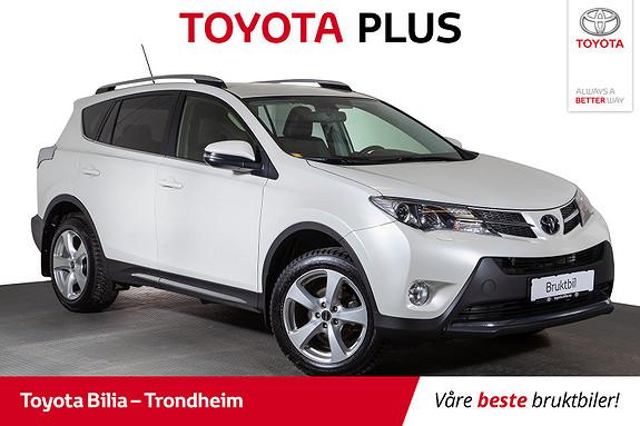 Toyota RAV4 2,0 D-4D 4WD Executive  2014, 142121 km, kr 259900,-