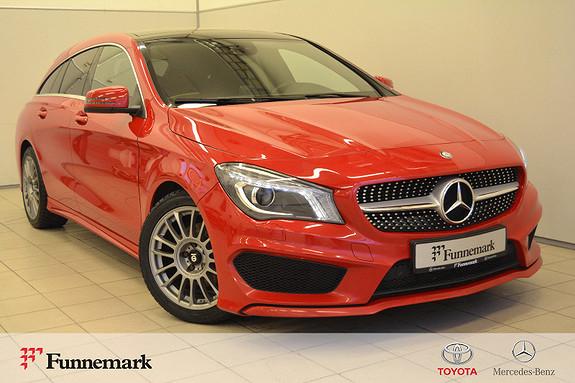 Mercedes-Benz CLA 180 Shooting Brake aut AMG line, Bi-xenon, panoramatak  2016, 93500 km, kr 239000,-