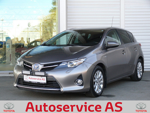 Toyota Auris 1,8 Hybrid E-CVT Active Go navi  2013, 67000 km, kr 179000,-