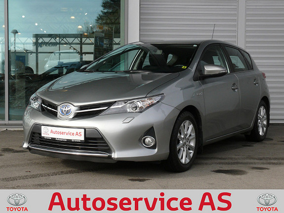 Toyota Auris 1,8 Hybrid E-CVT Active Go navi  2013, 90000 km, kr 169000,-