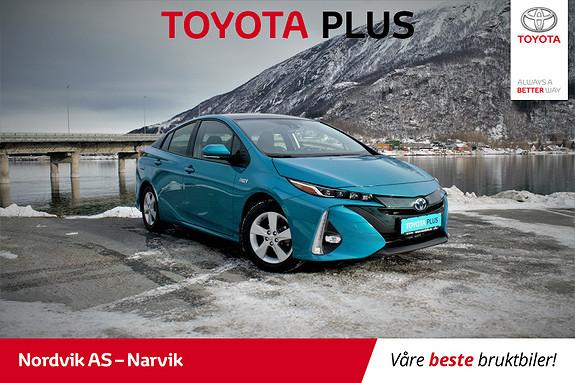 Toyota Prius Plug-in Hybrid 1,8 VVT-i Solar PHV LADBAR HYBRID Solcellepanel  2017, 15626 km, kr 279000,-