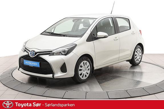 Toyota Yaris 1,5 Hybrid Active S e-CVT  2015, 40000 km, kr 159000,-