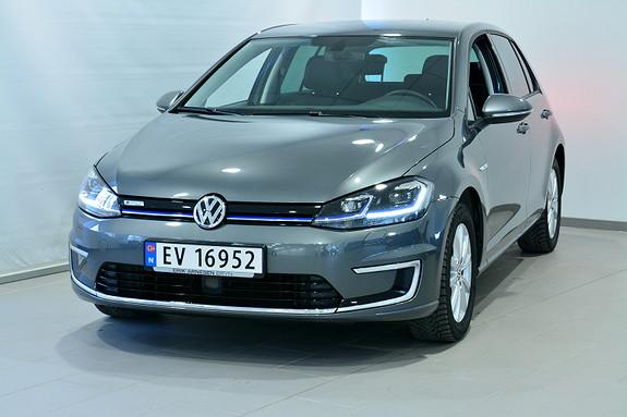 Volkswagen Golf E-GOLF 136HK 300KM  2019, 9500 km, kr 329900,-