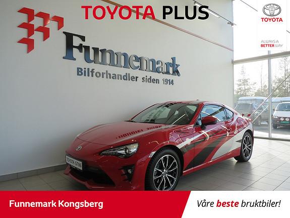 Toyota GT86 High aut. Hekkspoiler og sachs performance støtdempere  2017, 14000 km, kr 419900,-