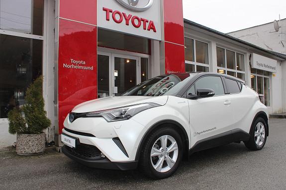 Toyota C-HR 1.8 Hybrid Lounge Tech Bi-Tone JBL og navi, TECTYL  2018, 17200 km, kr 329900,-