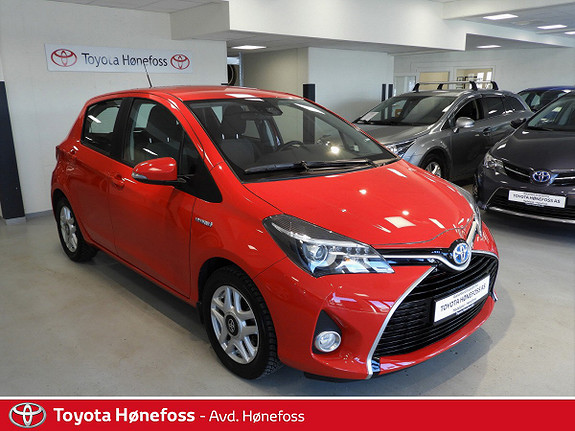 Toyota Yaris 1,5 Hybrid Active S e-CVT  2016, 26000 km, kr 169000,-
