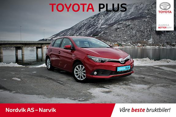 Toyota Auris 1,8 Hybrid E-CVT Active Fersk service  2016, 42635 km, kr 219000,-