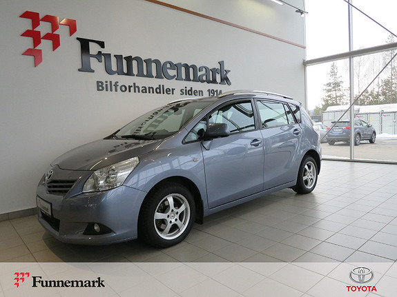 Toyota Verso 1,8 Advance 7 seter Multidrive S  2009, 121800 km, kr 119900,-