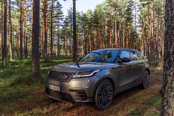 Land Rover Range Rover Velar R-Dynamic HSE 2.0 240hk Topputstyrt!  2018, 19000 km, kr 989000,-
