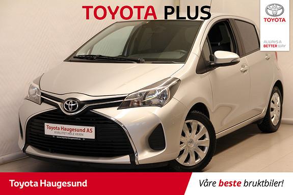 Toyota Yaris 1,0 Active  2015, 43789 km, kr 125000,-