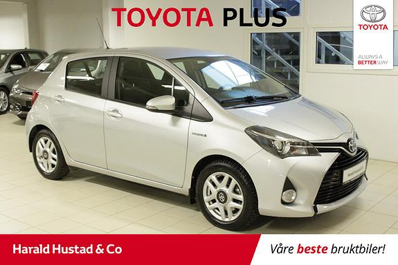Toyota Yaris 1,5 Hybrid Active S e-CVT  2017, 43456 km, kr 189000,-