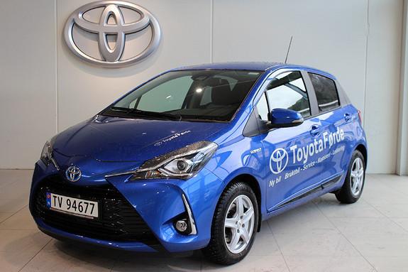 Toyota Yaris 1,5 Hybrid Active+ e-CVT aut  2018, 4000 km, kr 219000,-