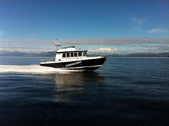 Targa 37 - Se denne i Trondheim på AquaNor messen i T