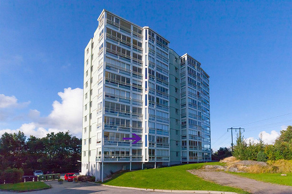 Flott 2-roms leilighet med innglasset balkong-2etg-Heis-Sentralt