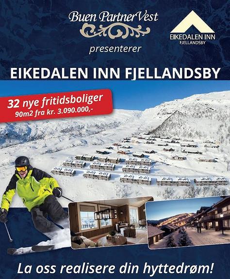 Ski in, ski out, Fritidsbolig , Eikedalen INN Fjellandsby 5 stk solgt