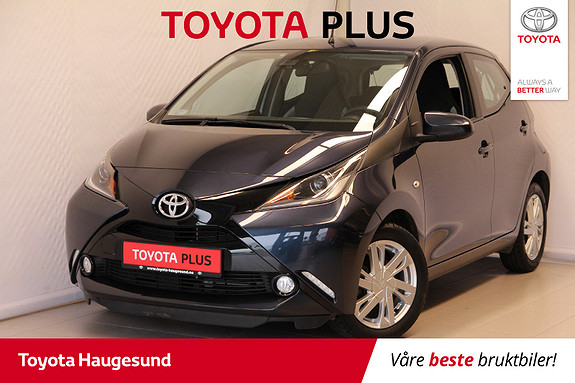Toyota Aygo x-play 1,0  2017, 15930 km, kr 139000,-