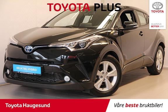 Toyota C-HR 1,8i Hybrid Active  2018, 6100 km, kr 299000,-