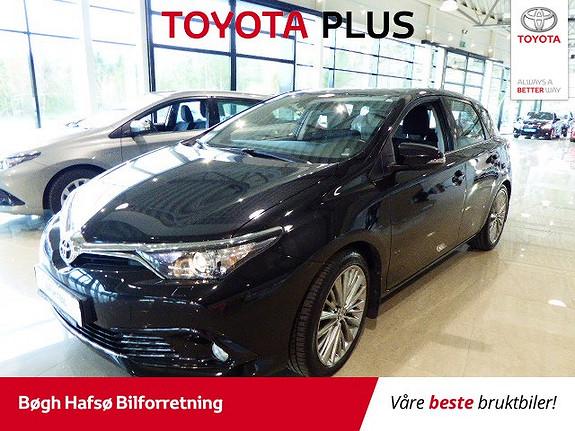 Toyota Auris 1,2 Turbo Active m/DAB+ og Navi  2016, 26400 km, kr 199000,-