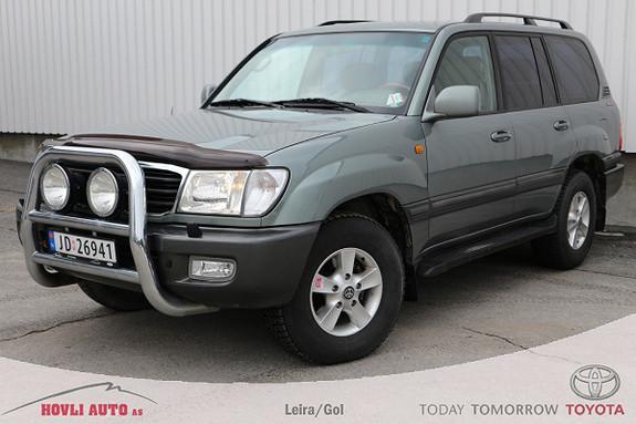 Toyota Land Cruiser 100 50th Anniversary 4,2l // Tecyl // Ny regreim/turbo  2001, 261000 km, kr 299000,-