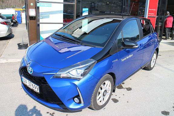 Toyota Yaris BiTone Blue, Hybrid ,  2018, 6200 km, kr 244000,-