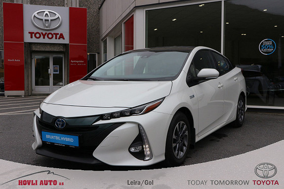 Toyota Prius Plug-in Hybrid 1,8 VVT-i Solar PHV Navi//DAB+//Nybilgaranti 2022  2017, 25249 km, kr 277000,-