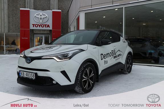 Toyota C-HR 1,8i Hybrid Lounge Tech Bi-LED//Demo//Varme i ratt//  2018, 16800 km, kr 319900,-